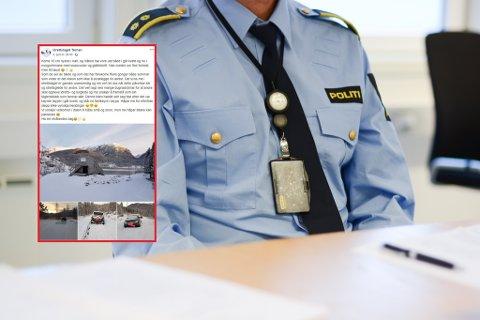 (Illustrasjonsfoto politi / skjermdump frå Idrettslaget Ternen på Facebook).