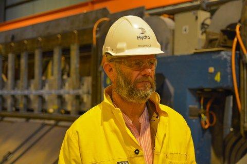 INDUSTRITOPP: Administrerande direktør i Norsk Industri, Stein Lier-Hansen, var tysdag på Husnes for å slå alarm om framtida til norsk prosessindustri.