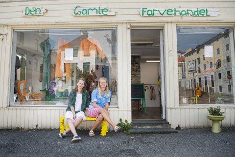 Marit-Inga Traavik Sture og Line Nørmølle Højlund bråbestemte seg for å åpne butikk i sentrum.