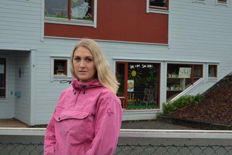 REAGERER: FAU-leiar Mona Øvstebø reagerer på at levekårsutvalet stemte for innstillinga om ikkje å gi kapital- og driftstilskot til utviding av Espira Halsnøy kloster barnehage.