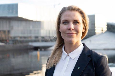 JURIST: Caroline Skarderud i Forbrukerrådet meiner bilabonnement framstår som gunstig, men at folk må sjekka vilkåra nøye. (Pressefoto: Forbrukerrådet)