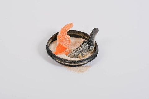 Snopekrokodillar dyppa i «Hockeypulver» har tatt av over heile landet, og trenden har også merkast godt i Kvinnherad. Men ein ringerunde Kvinnheringen har gjort viser at det er store skilnader på kor populær trenden er, alt etter kor du er i kommunen.