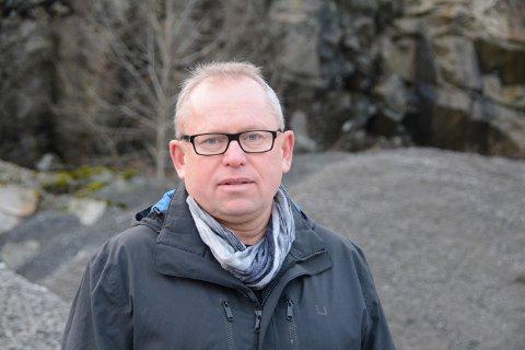 Kjell Apeland i Hardanger Rock AS.