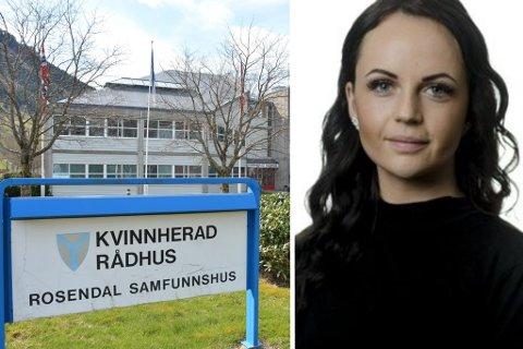 Natalie Martins Sæberg gler seg til å ta fatt i den nye jobben som avdelingsleiar.