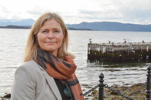 TOPPSJEF: Kommunedirektør Ragnhild Bjerkvik har lagt bak seg vel to år i stillinga, og har framleis mykje ugjort.