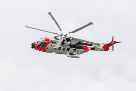 Eit Sar Queen-helikopter. (Arkivfoto).
