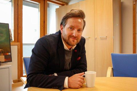 BURSDAG: 29. april ble Christian Friestad 40 år. Han ble overrasket på en helt spesiell måte.
