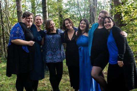 Vokalensemblet Glimrah held konsert i Husnes kyrkje førstkommande fredag kveld.