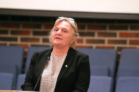 Rådmann Wenche Grinderud ønsker at tingretten skal bli på Kongsberg, og ønsker et mandat til å fortsette det arbeidet.