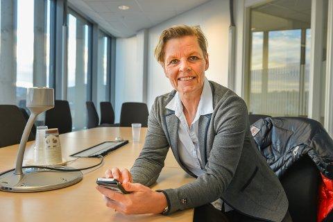 KOORDINERER: Britt Inger Kolset har ansvaret for at digitaliseringssamarbeidet mellom de åtte kommunene i Kongsbergregionen foregår på harmonisk vis.