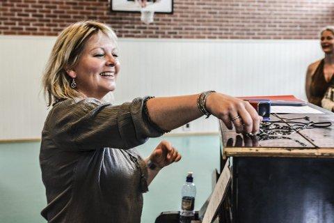 Prosjektleder: Signe Lise Holm forteller at kulturskoleelevene jobber med et variert Gloger-repertoar. Foto: Mona Sandviken