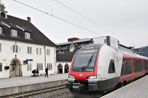 Det kan bli streik på Sørlandsbanen. Det vil merkes i Kongsberg.