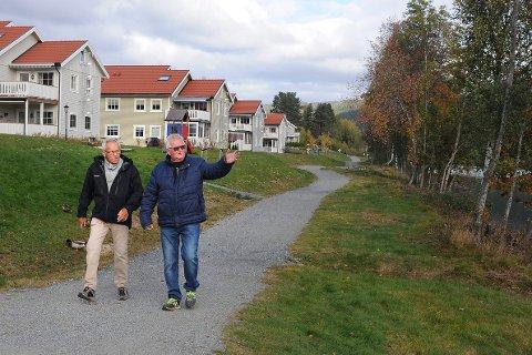 Det har blitt riktig så fint ved Kongsberg Bruk, noe Tor Johansen og Terje Pedersen er glade for, men også har bidratt til selv.