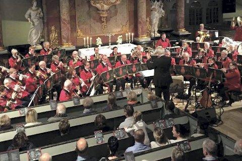 BIDRAR UNDER GLOGER: KV-Musikken skal være med på «Classics for winds» i Kongsberg Musikkteater under Glogerfestspillene 2017.