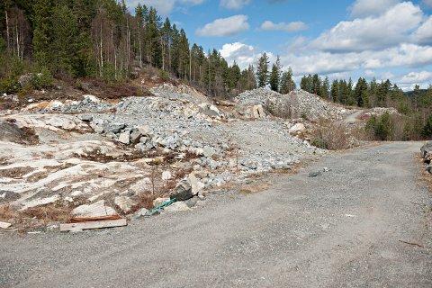 STEINRØYS: Det har vært mange planer i Svartås sør. Nå kommer en ny reguleringsplan for deler av området.
