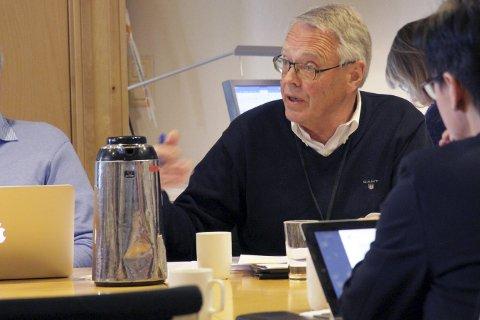SKEPTISK: Kjell Gunnar Hoff i Kongsberglista har ingen tro på effekten av å bruke 171.000 kommunale kroner på opprinnelsesgaranti for strøm.