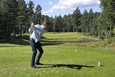 TOPP FORHOLD: Banene hos Kongsberg Golfklubb er klare for å ta imot verdens beste juniorspillere, forteller Peter Johansson. foto: torgrim Gotland Bakke