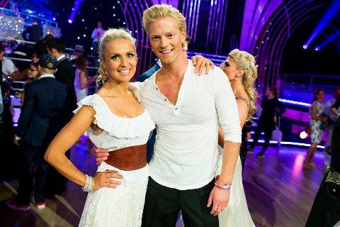 SAMBA: Denne lørdagen skal Eilev og Nadya kaste seg ut i brasilianske rytmer med en overraskende danselåt.