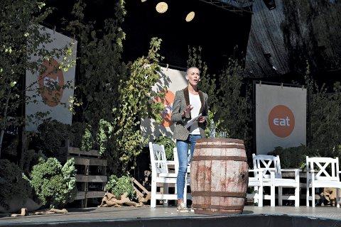 Gunhild Stordalen nådde målet om å gå på scenen på åpningsdagen på Dyrsku´n. FOTO: STÅLE WESETH