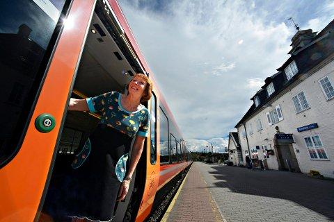 TOG: Kongsberg-lobbyen kjemper i flere kanaler for å få Kongsbergbanen til å bli et begrep i Nasjonal transportplan (NTP). Planen er nå til behandling i Stortinget.