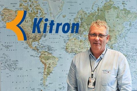 Hans Petter Thomassen, administrerende direktør i Kitron Norge.