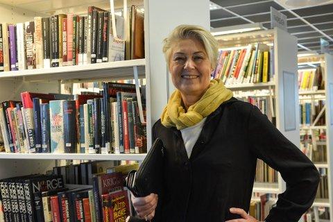 Heidi Hesselberg Løken, kommunalsjef kultur og velferd, sier at hun ikke stresser over at kun en person søkte på stillingen som biblioteksjef på Kongsberg.
