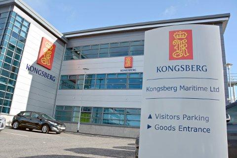 TAPTE: Kongsberg Maritime tapte rettssaken om Havforskningsinstituttet.