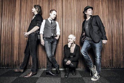 JAZZ: Come Shine holder konsert i Kongsberg kirke 24. januar.