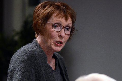 BEKYMRET: Ordfører Kari Anne Sand er på ingen måte beroliget etter møtet med politimesteren i forrige uke.