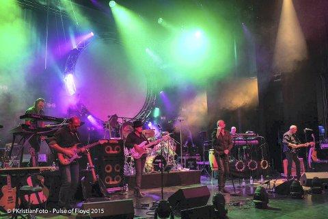 KOMMER: Pulse of Floyd inntar Kongsberg Musikkteater 1. april.