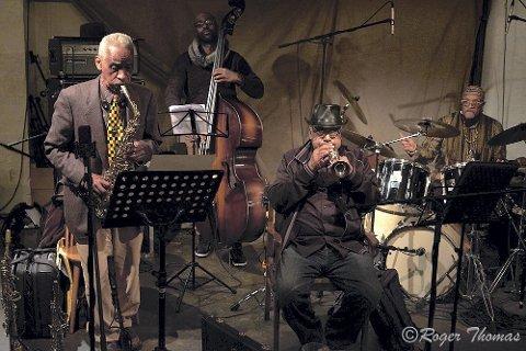 TAR EN DOBBEL: Art Ensemble of Chicago holder to konserter på EnergiMølla under jazzfestivalen.