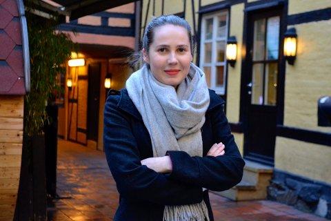BEITE: Ingrid Nikoline Sand ønsker beitedyr i Gruveåsen.