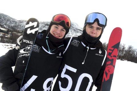 Trym Sunde Andreassen og Henning Hansen Pytte