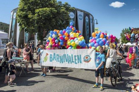 STEMNING: Barnvivalen er blitt en populær festival i festivalen.