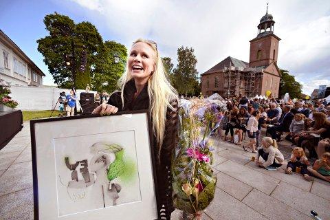 FJORÅRETS VINNER: Susanna Wallumrød vant jazzprisen i fjor. I år nedjusteres prisbeløpet.