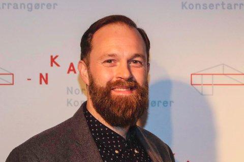 LEDER: Torbjørn Heitmann Valum er daglig leder i Norske Konsertarrangører.