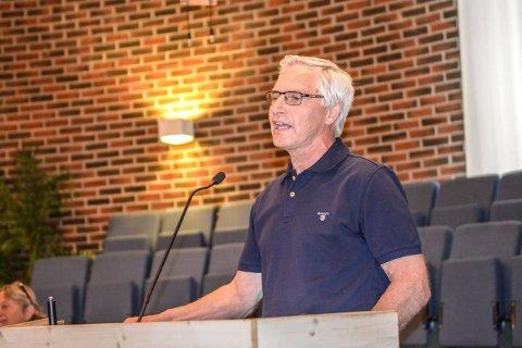 Lars Tyldum. Leder i Kongsberg pensjonistforening.