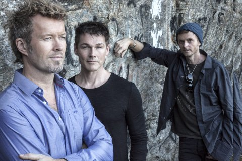 Klare for kongsbergjazz: Supergruppa a-ha skal holde konsert på Kirketorget 6. juli 2018. Festivalen håper på 12.000 publikummere.
