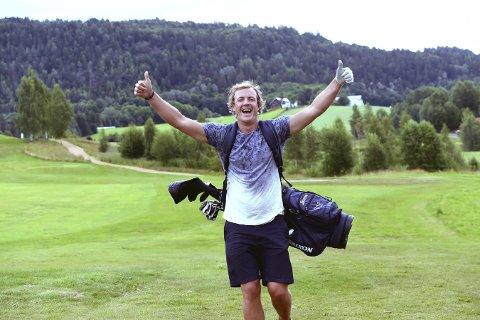 LEGGER OPP: Det kan bli mer golfspill for Stian Sivertzen nå etter at han har bestemt seg for å legge opp.foto: OLE JOHN HOSTVEDT