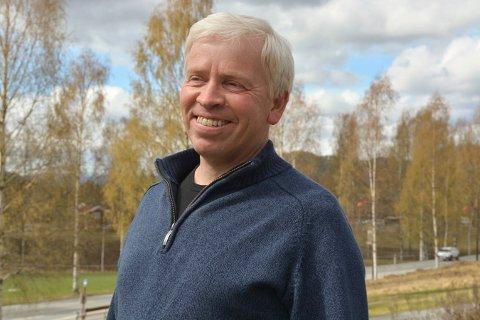 ORDFØREREN: Oddvar Garaas er ordfører i Flesberg for Senterpartiet.