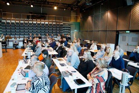 ENSTEMMIG: Kongsberg kommunestyre var enstemmige i vedtaket som ble fattet i KKE-saken. Både styrets og daglig leders håndtering skal undersøkes.