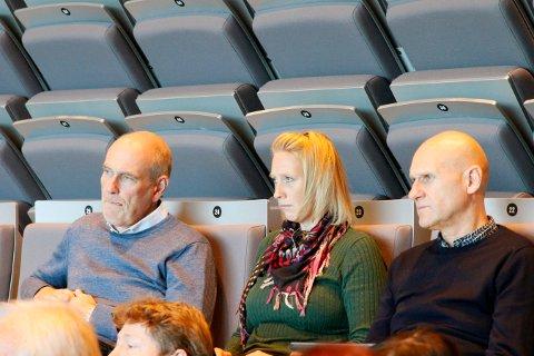 KKE-LEDERE: Eiendomsdirektør Geir Øystein Andersen (t.v.) har ansatt Hilde Wendler Søia som økonomisjef i KKE. Brynjar Henriksen, produksjonssjef i KKE til høyre.