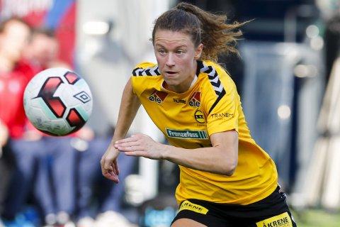 UAVGJORT: Synne S.Hansen og LSK spilte uavgjort.