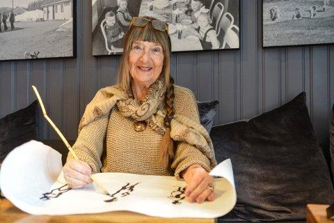 DELTAR: Nenna Steinset Halvorsen fra Flesberg er blant kunstnerne som deltar på jubileumsutstillingen, som åpner i Vestfossen 13. oktober.