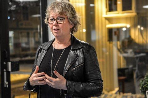NYTT ANSIKT: Kvalitetrådgiver Lill Tone Grahl-Jacobsen ble presentert for politikerne i utvalg for helse og omsorg.