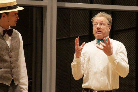STOR ROLLE: Tommy Johansen får en bærende rolle i Kongsberg Teaterlags neste forestilling.
