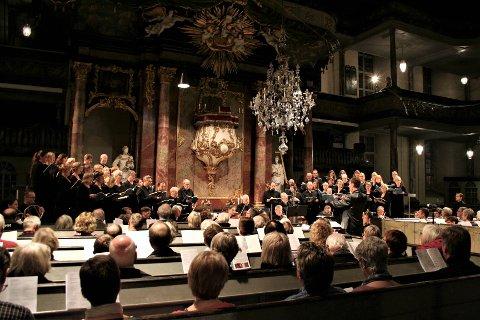 SANG: Kongsberg kantori påtar seg sangoppdrag til kulturkvelden 12. desember.