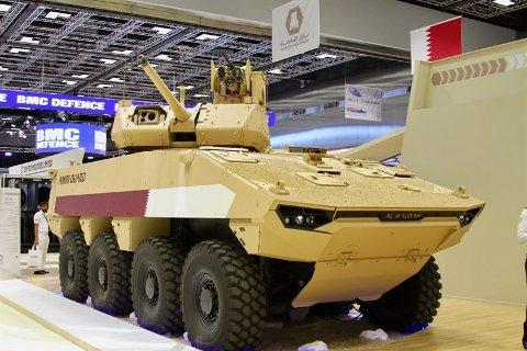 KJØRETØY: Kongsberg Gruppen skal levere tårnløsninger, og digitaliserings- og kommunikasjonsløsninger til 490 pansrede kjøretøyer levert av franske Nexter.