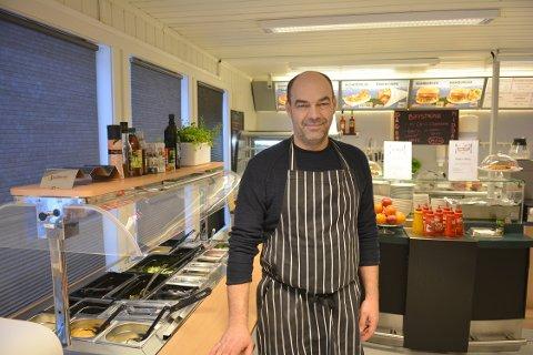 STENGT: Stefan Mayrhofer har lagt ned driften på Nore kro i Norefjord.