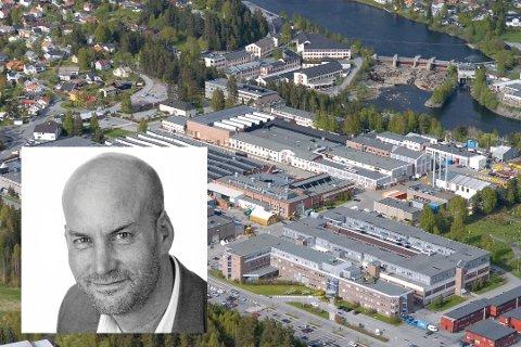 Kristian Staib, administrerende direktør hos People of Norway AS, vil etablere kontor på Kongsberg.